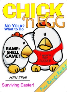 Picture of cover of 'Chick 'n Egg' magazine