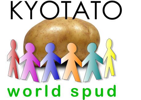 Cartoon of 'Kyotato' the World Spud